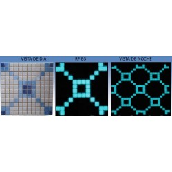 Mosaico B3 Luminiscentes